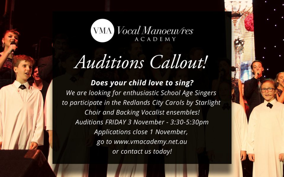 Audition Callout