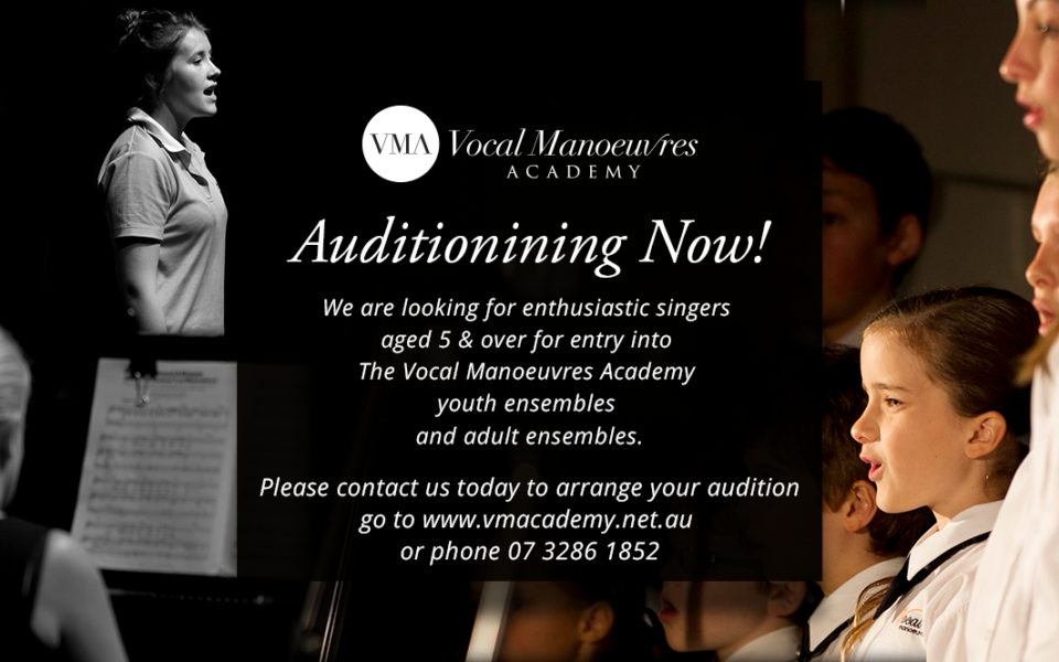 Auditioning Now!